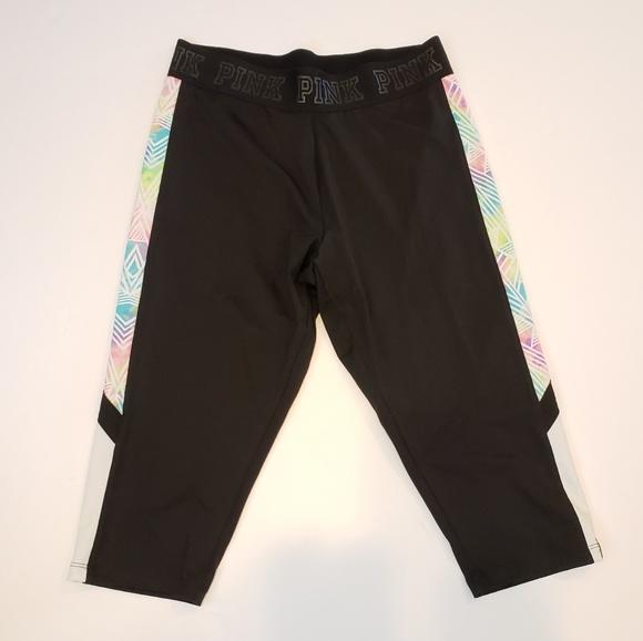 PINK Victoria's Secret Pants - PINK   ultimate cropped leggings